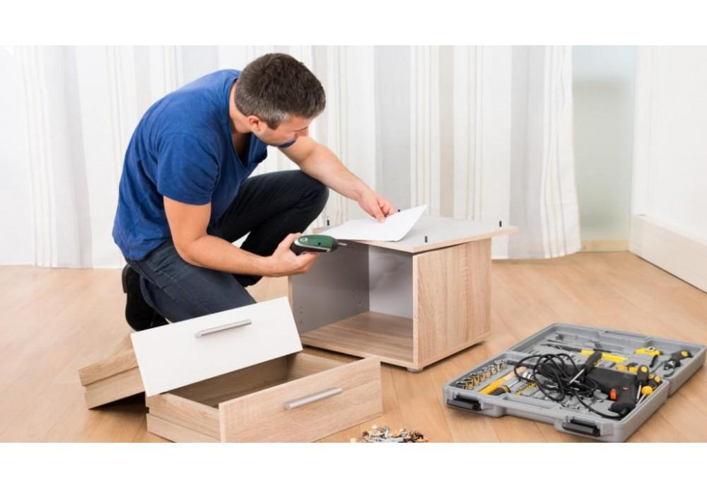 Самостоятельная сборка мебели на примере комода