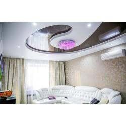 Двухуровневые натяжные потолки - что это и зачем?
