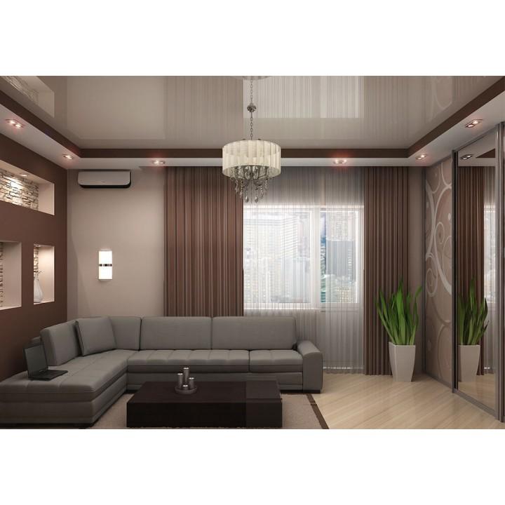 Натяжной потолок, Гостиная 16 кв