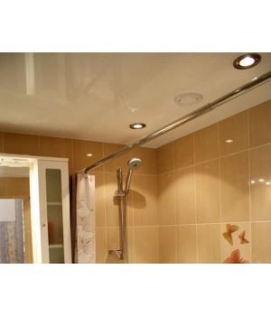 Натяжной потолок, Ванная 4 кв
