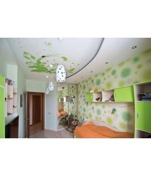 Натяжной потолок, Детская 9 кв