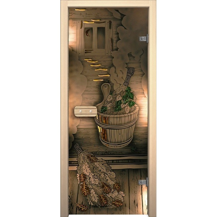 Межкомнатная дверь Парилка (189*69 Пр.) от фабрики Акма