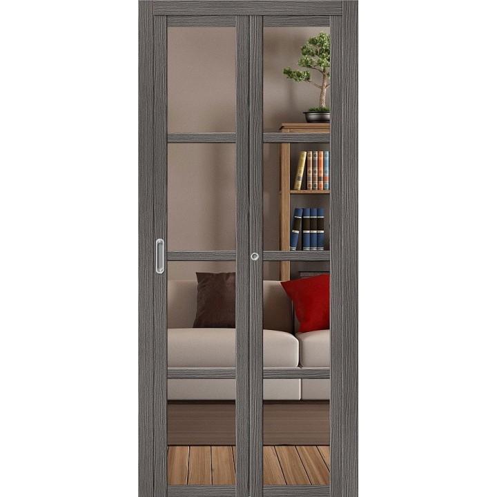 Складная дверь Твигги V4 Crystalline (200*35) от фабрики ?LPORTA