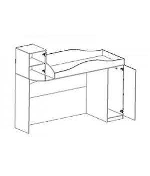 Кровать-чердак Нео 2 Н2-2