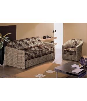 Набор Глория Эконом 2 (1200ППУ) (диван + 2 кресла)