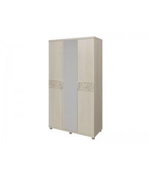 Шкаф для платья и белья  3-х дверный 09