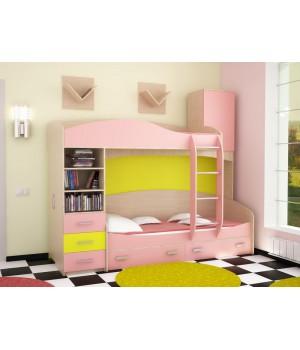 Кровать детская двухъярусная Домино 2