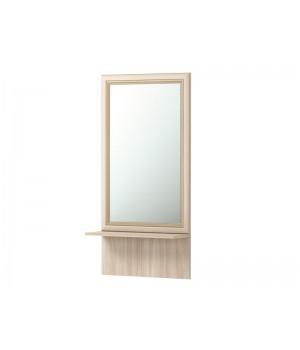 Зеркало настенное с полкой 21