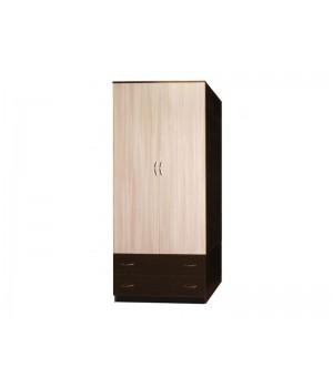 Шкаф 2-х дверный комбинированный