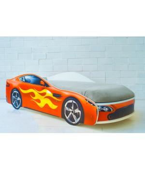 Кровать Бондмобиль красный