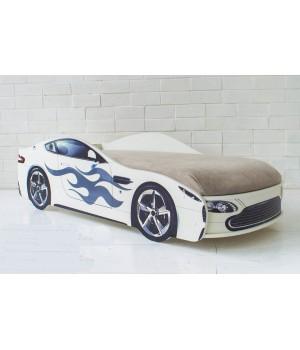 Кровать Бондмобиль белый