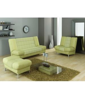 Набор Вега 16 (диван + кресло + банкетка)
