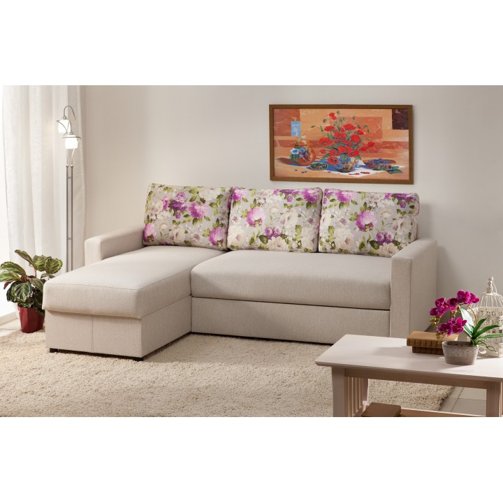 Угловой диван Виктория 2-1 комфорт 1400