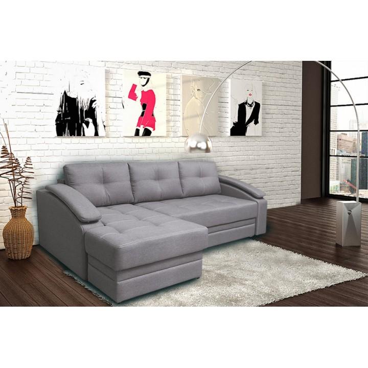 Турин угловой диван (Savana Latte)