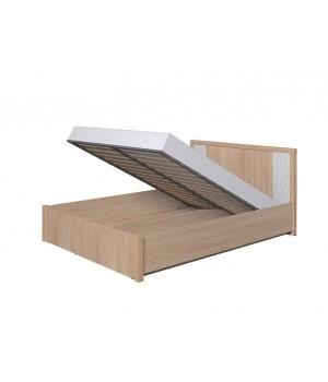 Кровать с под. мех-ом 1400 (сонома) Wyspaa 23.2