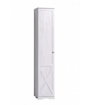 Шкаф для белья левый (ясень) Adele 83