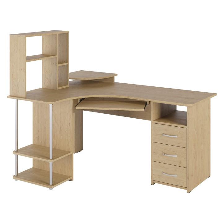 Стол компьютерный с надстройкой С-237-СЕ-237