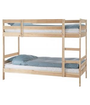 Кровать двухъярусная Пирус (для покраски)