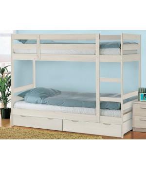 Кровать двухъярусная Пирус с ящиками
