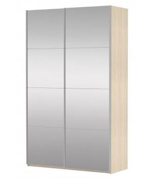 Шкаф-купе 2-х дверный с зеркалами Прайм 1600
