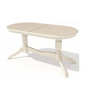 Стол обеденный овальный Зубр-1 (Эмаль)