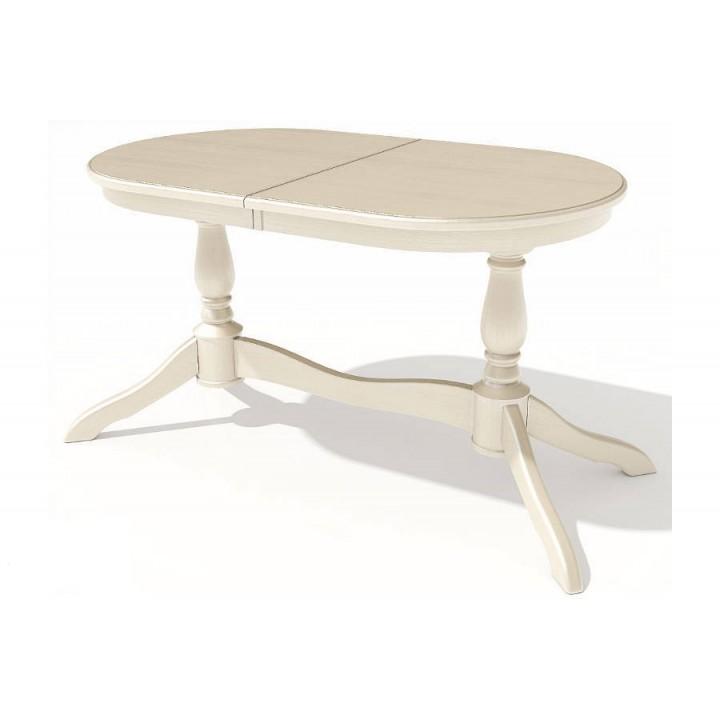 Стол обеденный овальный Романс-21 (Эмаль)