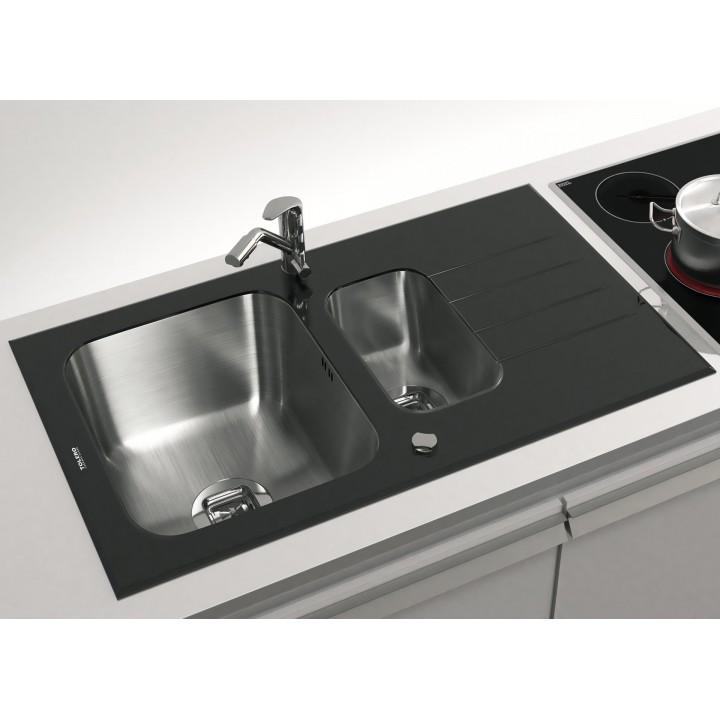 Мойка Tolero Ceramic Glass TGR-860k