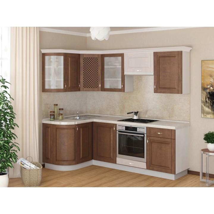 Кухня Трапеза Массив-Люкс 1335х1600