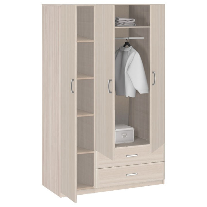 Шкаф 3-х дверный с ящиками 1260 8.031