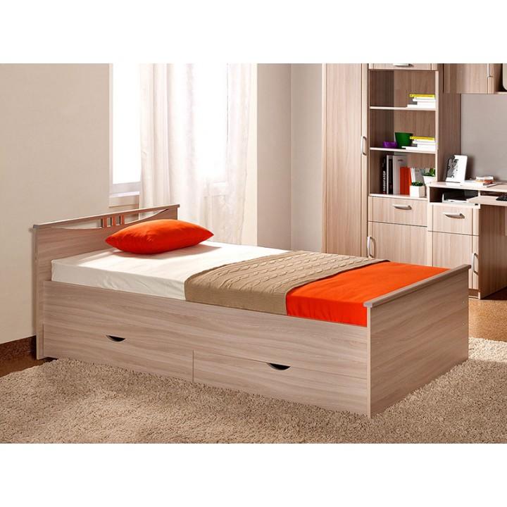 Кровать Мелисса 900 с ящиками