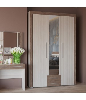 Шкаф 3-х дверный с ящиками Азалия 4-4805