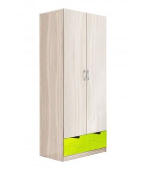 Шкаф 2-х дверный МДФ (Волна)