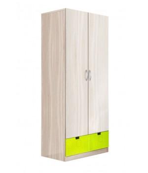 Шкаф 2-х дверный МДФ (Квадрат)