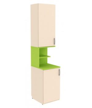 Шкаф со вставкой Дарина УШ02