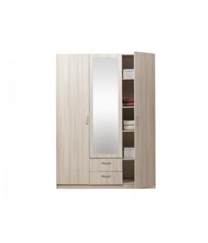 Шкаф 3-х дверный с зеркалом Эко 5.14 Эко