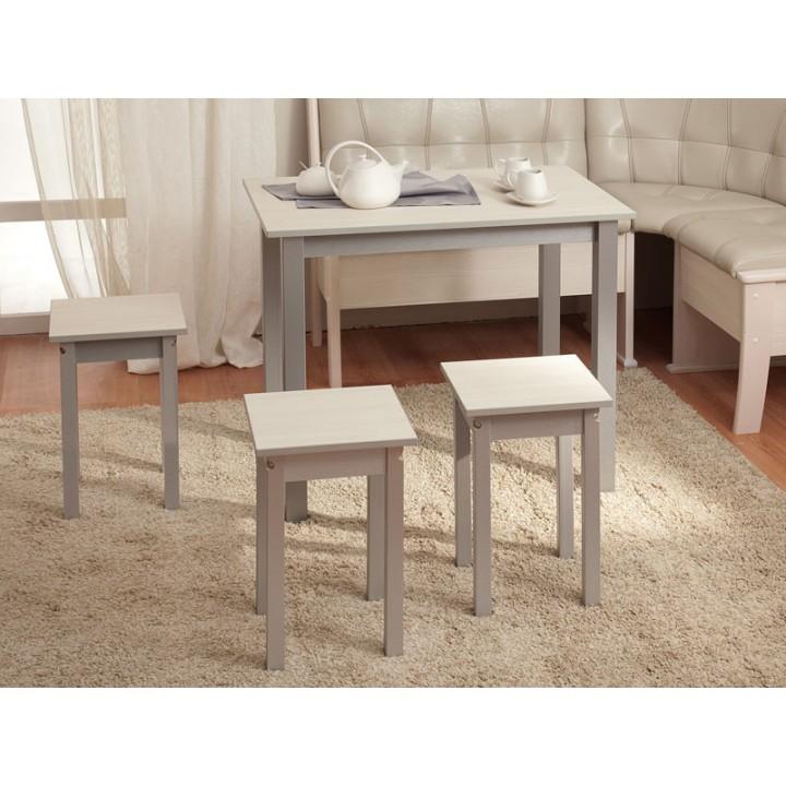 Стол обеденный прямая нога