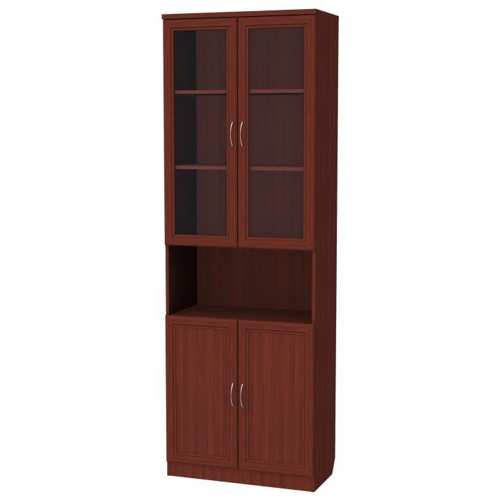 Шкаф для книг 207 cо стеклами