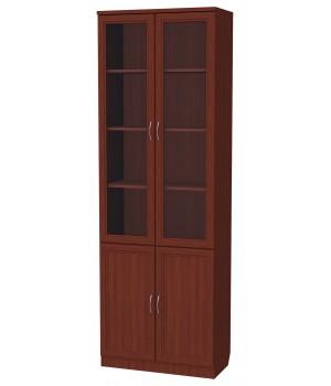 Шкаф для книг 206 cо стеклами