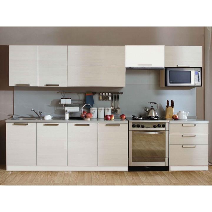 Кухня Трапеза Престиж со шкафом под микров. печь 2200 (I кат)