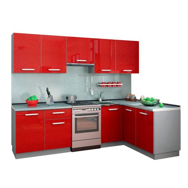 Кухня Симпл 2700х1500 (массив)