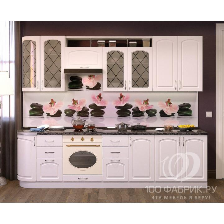 Кухня Трапеза Классика Белая